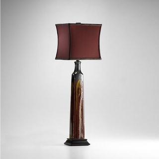 "Cyan Design 4113 30.75"" Golden Buffet Lamp from the Lighting Collection - Burgundy"
