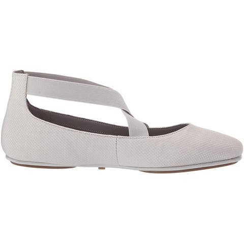 Aerosoles Women's Shoes Saturday Fabric Almond Toe Ankle Strap Slide Flats
