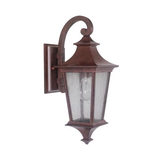 Jeremiah Lighting Z1354 Argent II 1 Light Outdoor Wall Sconce - 6 Inches Wide - Gold