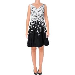 Lauren Ralph Lauren Womens Marietta Sundress Floral Print V-Neck