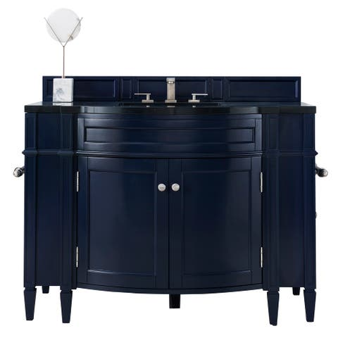 "Brittany 46"" Single Vanity, Victory Blue"
