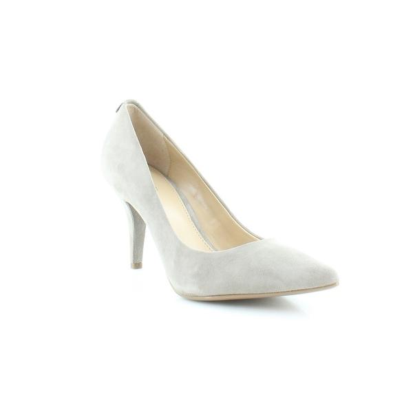 Michael Kors Flex Mid Pumps Women's Heels Pearl Grey