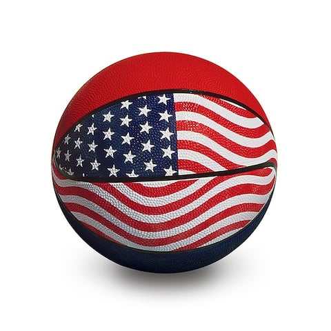 """9"""" Red, White and Blue Official USA/WBA Competition Basketball"""