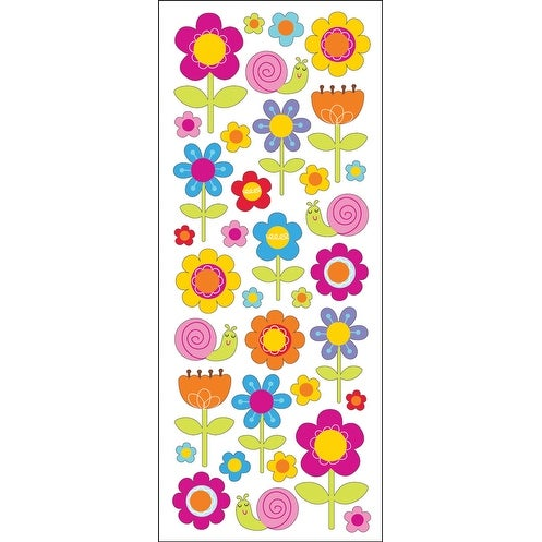 Sticko Stickers-Happy Flowers