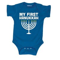 My First Hanukkah-Infant One Piece