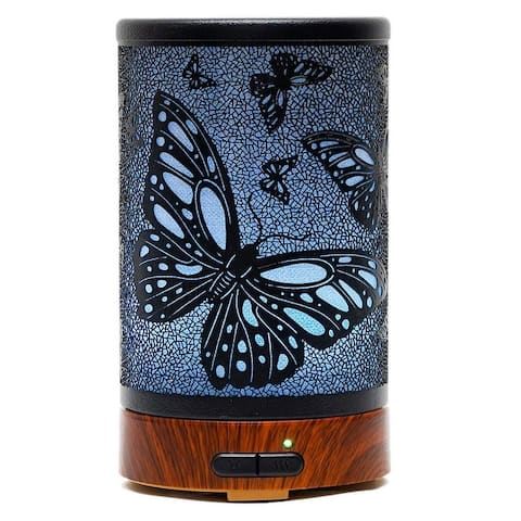 ETCBUYS Ultrasonic Cool Mist Aromatherapy Essential Oil Diffuser