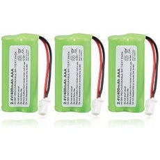 Replacement VTech CS6649 / CS6128-31 NiMH Cordless Phone Battery - 700mAh / 2.4v (3 Pack)