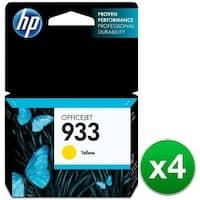 HP 933 Yellow Original Ink Cartridges (CN060AN)(4-Pack)