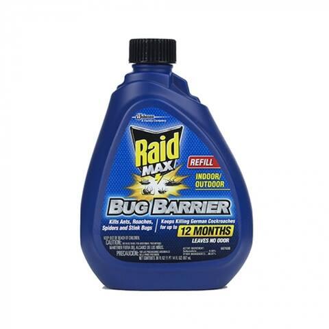 Raid 71109 Max Bug Barrier Refill, 30 Oz