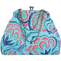 Amy Butler Women's Nora Clutch With Chain Oasis/Azure - us women's one size (size none)