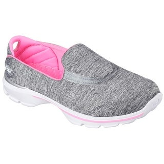 Skechers 81076LGRY Girl's GOWALK 3 - REBOOT Shoes