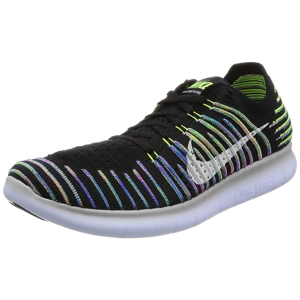 17982c260fadd Shop Nike Mens Free RN Flyknit 2017 Low Top Lace Up Trail Running ...
