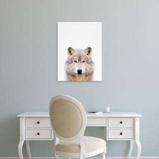 Easy Art Prints Tai Prints's 'Wolf' Premium Canvas Art