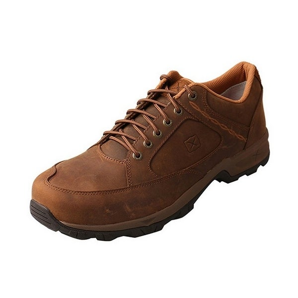 Casual Shoe Men Hiker Work ST Red Buckle Saddle MHKS001