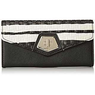 Nine West Womens Rock And Lock Faux Leather Organizational Envelope Wallet - o/s