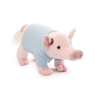 "Prissy and Pop 11"" Stuffed Animal Plush Pop Mini Pig"