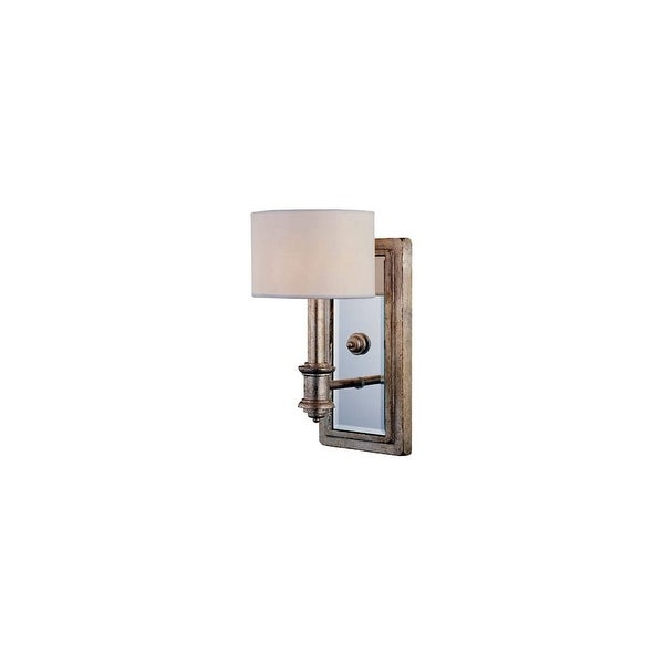 "Savoy House 9-1105-1 Caracas 1 Light 10.63"" Tall Wall Sconce - argentium"