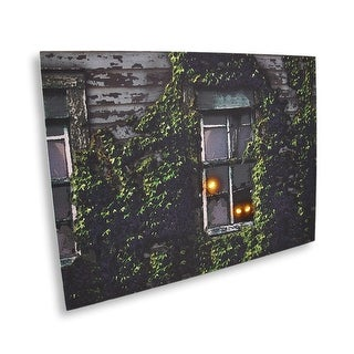 Lighted Spooky Eyes LED Canvas Wall Hanging