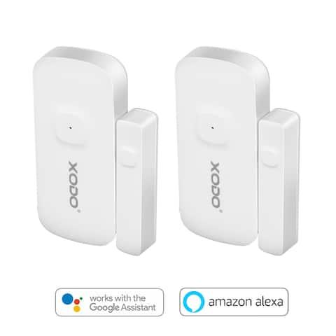 XODO DS1 Wi-Fi Anti Theft Security Smart Home Wireless Alarm Door Window Sensor App Controlled Smart Home Device (2-Pack)
