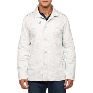 Robert Graham Mens Cam Woven Classic Fit Jacket