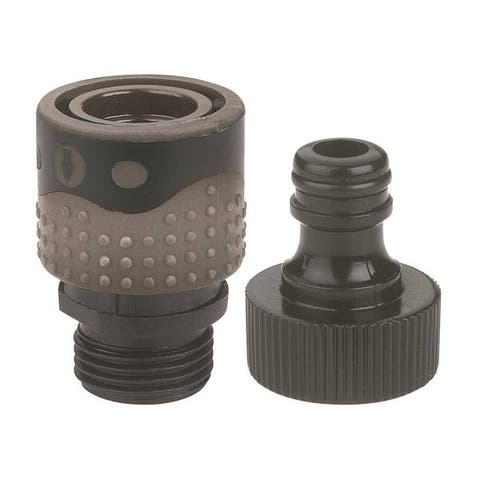 Gilmour 839004-1001 Faucet Quick Connector Set, Polymer - 10.46 Inch