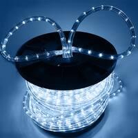 Arksen Flexible 150' LED PVC Tubing Rope Kit 110v, Cool White
