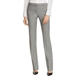 BOSS Hugo Boss Womens Tamea Dress Pants Patterned Pleated