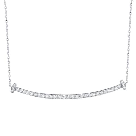 Smiling Rocks Essentials Collection 0.55Ct G-H/VS1 Lab Grown Diamond Necklace