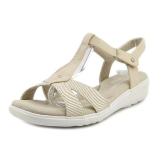 Grasshoppers Rose Women Open Toe Synthetic Tan Sandals