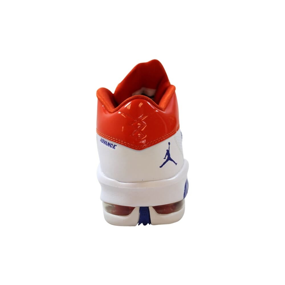 Shop Nike Air Jordan Melo M8 Advance White Game Royal Team Orange 542250 117 Grade School Overstock 30125021