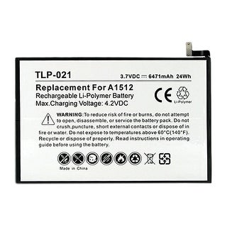 Battery for Apple A1512 / 020-8442 (Single Pack) Replacement Battery