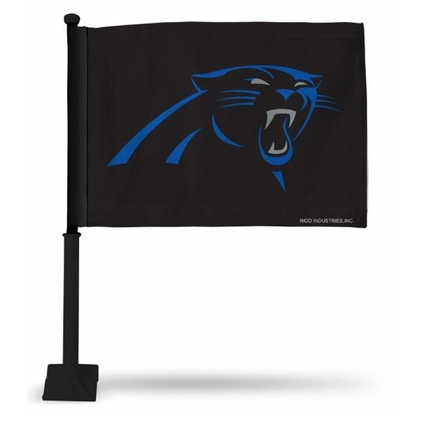 Cheap Shop RicoIndustries FGK0803 Carolina Panthers Car Flag with Black  for cheap