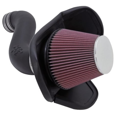 K&N Performance Cold Air Intake Kit 57-1543 with Lifetime Fi