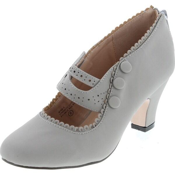Womens Mina4 Closed Toe Mary Jane High Heel Shoes. Opens flyout.