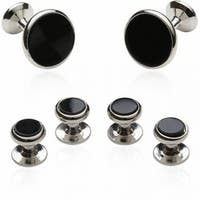 Groomsmen Cufflink And Stud Set