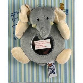 Beverly Hills Teddy Bear Company Elephant Baby Mirror Toy