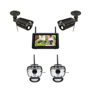 Uniden UDR777HD + ULC58-2 Wireless Surveillance Cameras with 7 HD Monitor