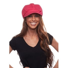 Washed Newsboy Cap for Men or Women