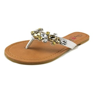 Penny Loves Kenny Tickle Open Toe Leather Thong Sandal