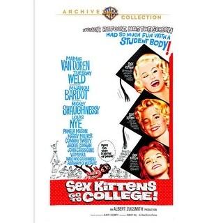 Sex Kittens Go To College DVD Movie 1960