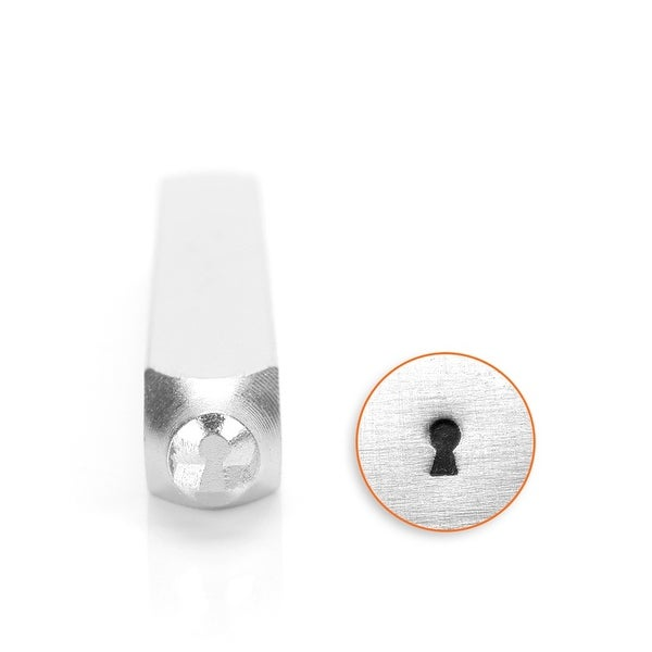 ImpressArt Key Hole Punch Stamp for Metal 4mm - 1 Piece