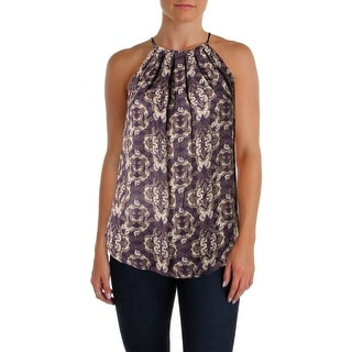 Joie Womens Silk Printed Pullover Top