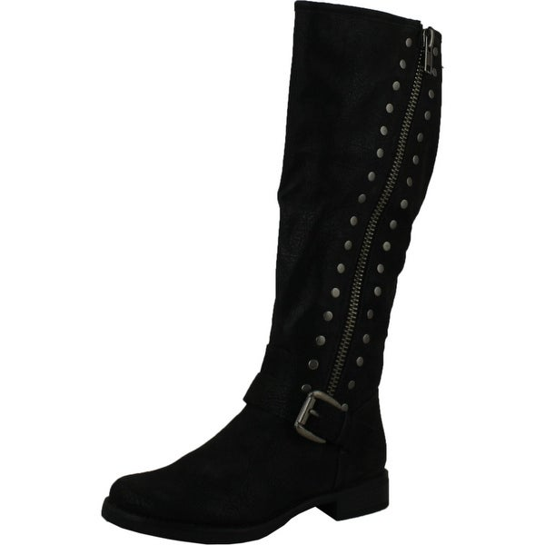 Madeline Womens Sparrow Boots - black-distressed
