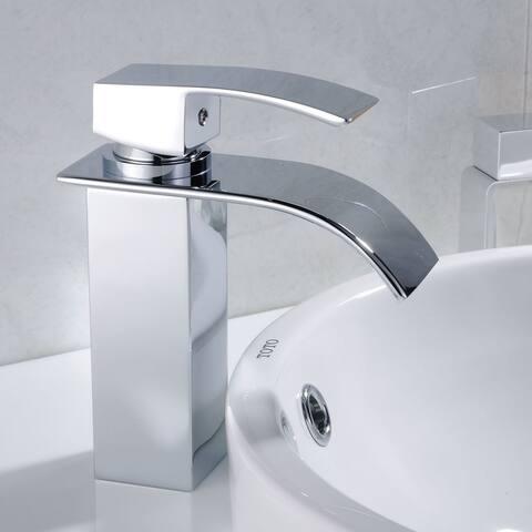 Single Hole Single-Handle Bathroom Faucet