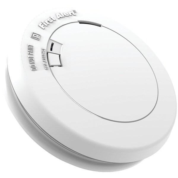 First Alert Pr710 10-Year Sealed-Battery Photoelectric Smoke Alarm