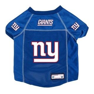 New York Giants Pet Jersey Size M