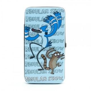 Regular Show Blue Hinge Wallet