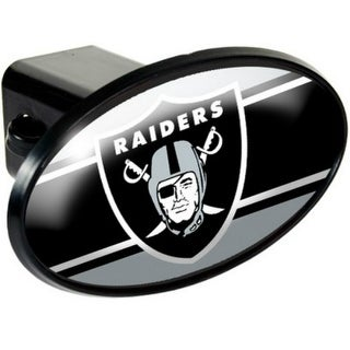 Great American Products Oakland Raiders Oval Trailer Hitch Cover Oval Trailer Hitch Cover