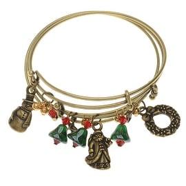 Nostalgic Christmas Bangle Bracelet Set - Exclusive Beadaholique Jewelry Kit