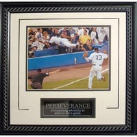 Derek Jeter Perseverance Dive Framed 8x10